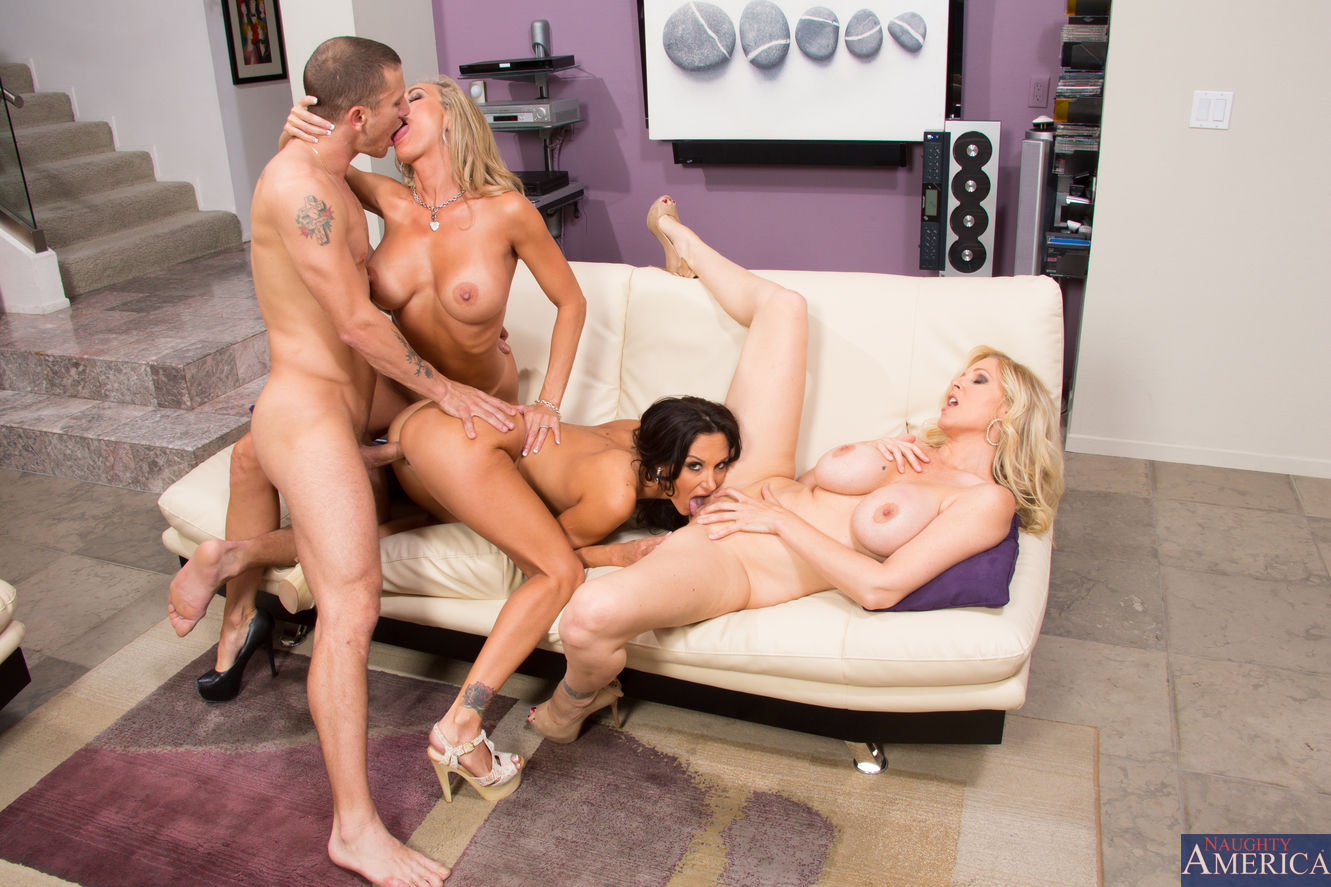 Naughty America Foursome