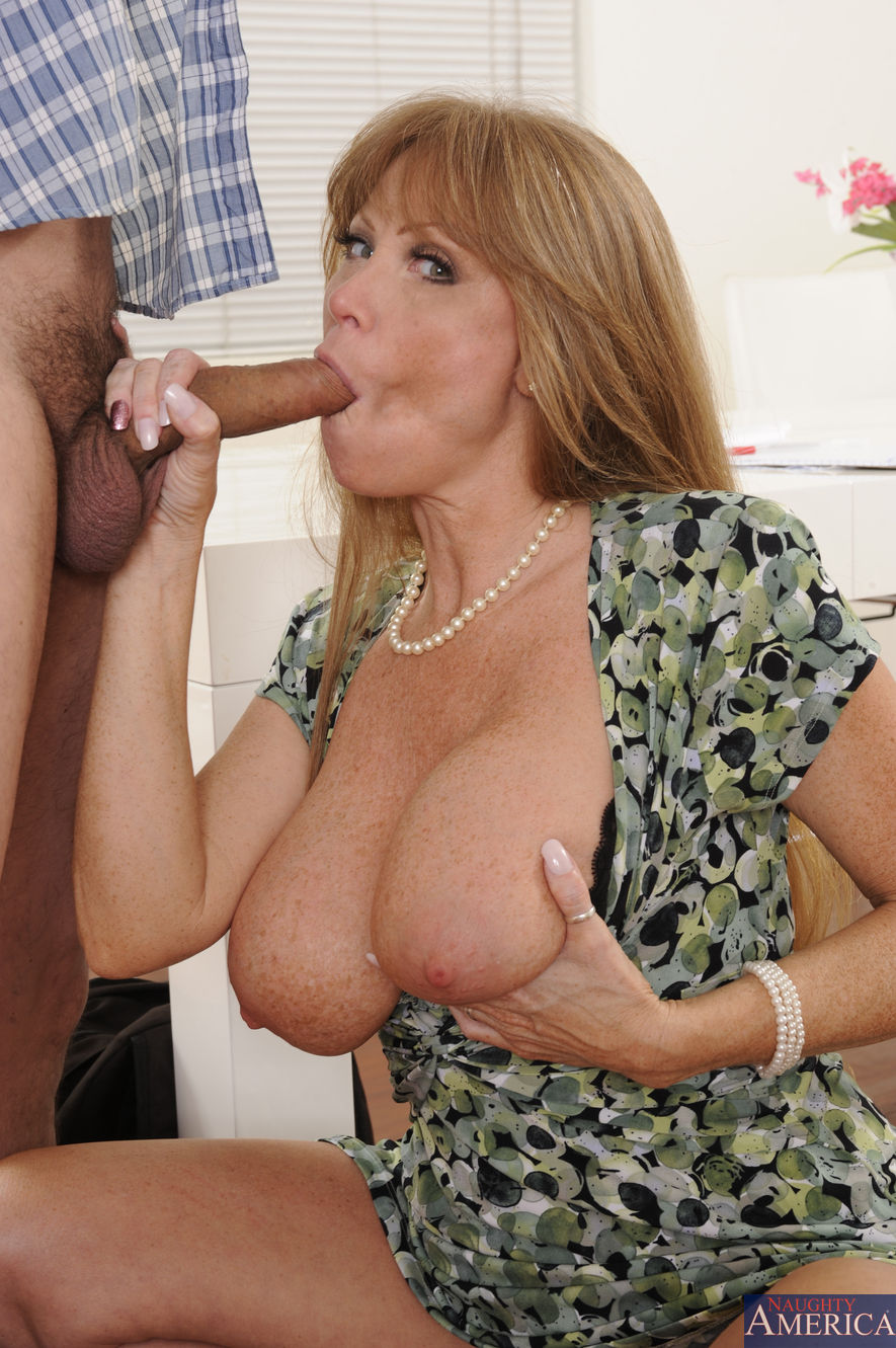 image Mature mom darla cranes huge tits and hungry pussy