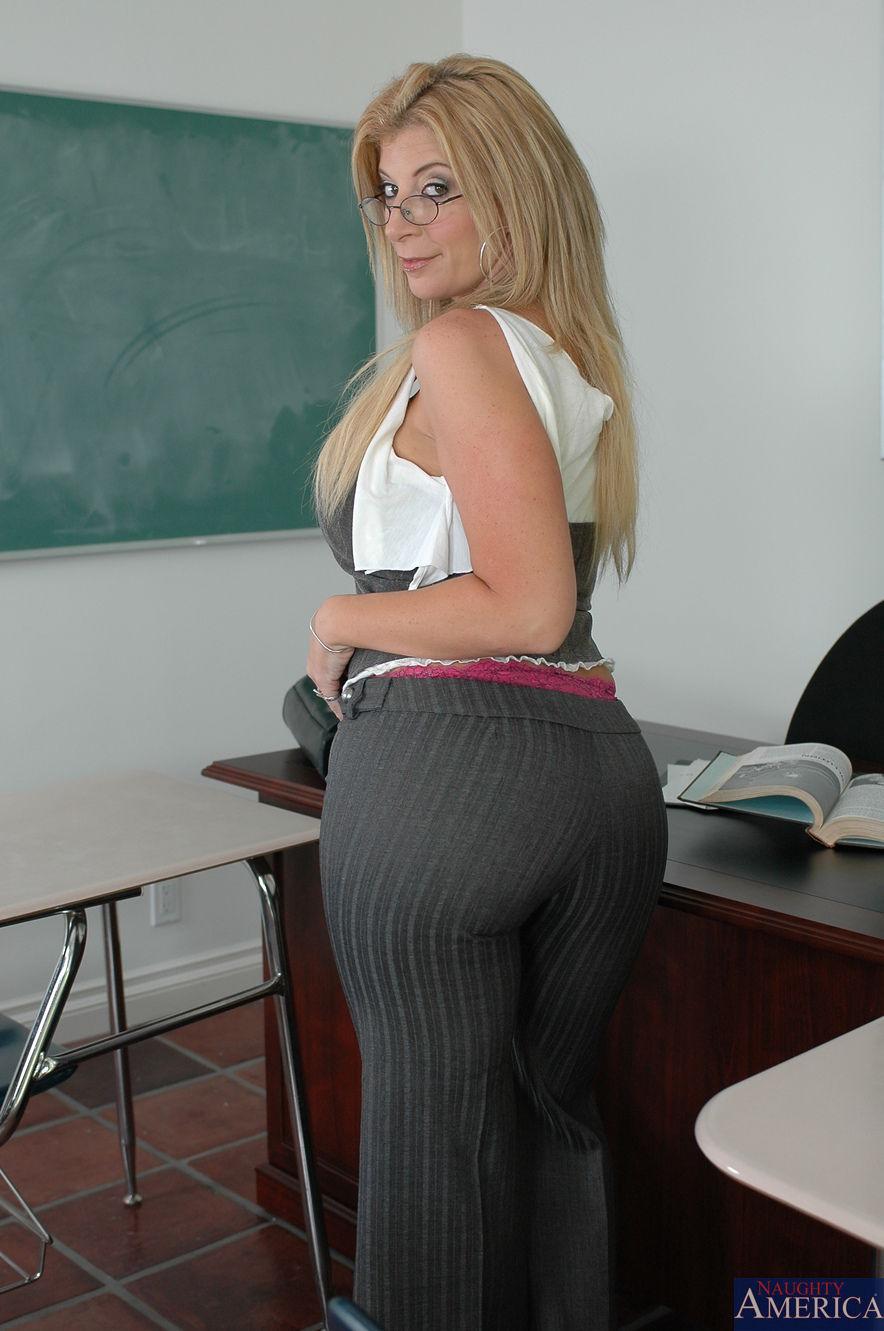 Sexy Teacher Pornstar