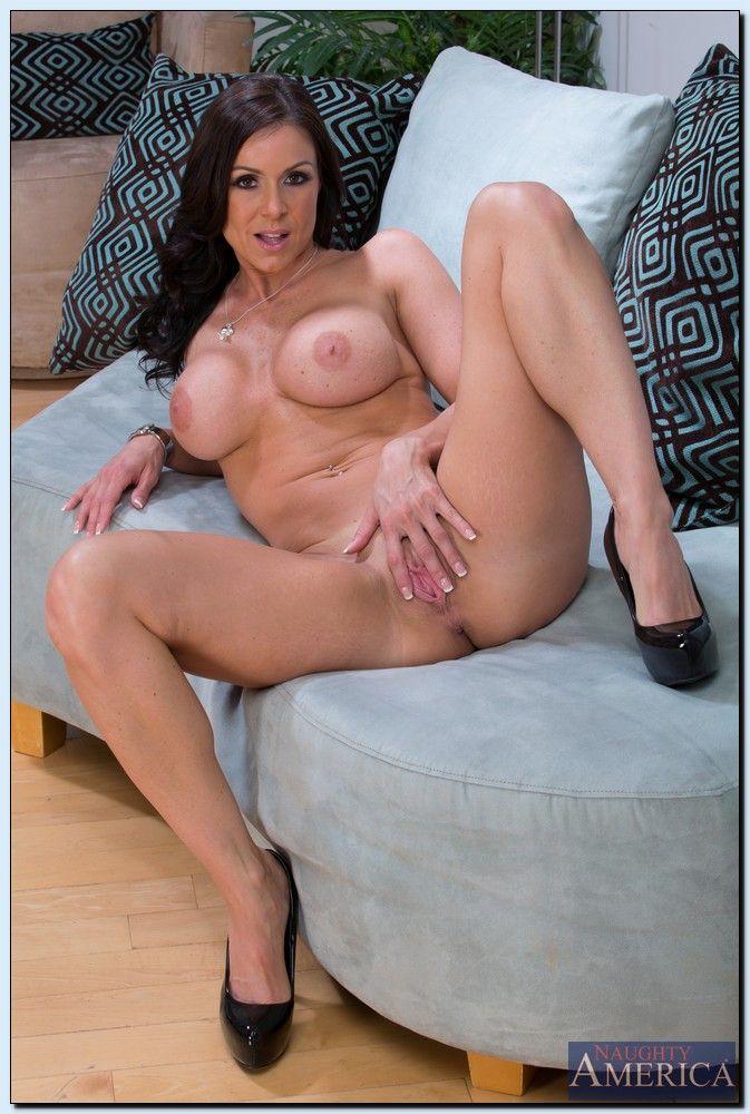 Adorable Brunette Milf Babe Kendra Lust With Big Tits Spread Pornrewind 1