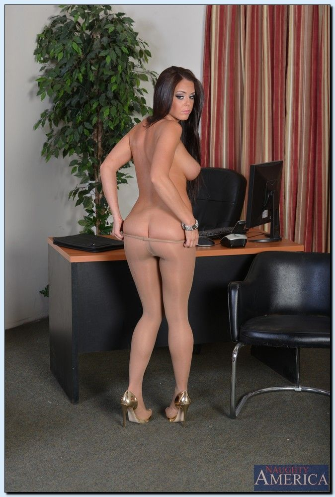 Rahyndee james naughty office