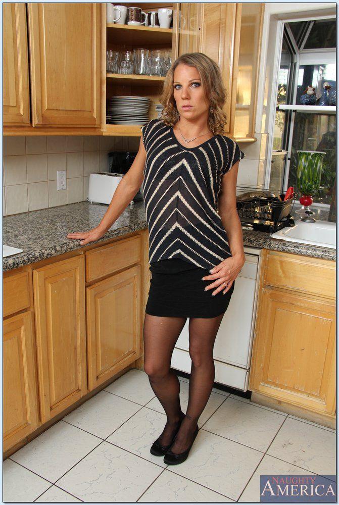 Alyssa dutch hot step mom helps son 7