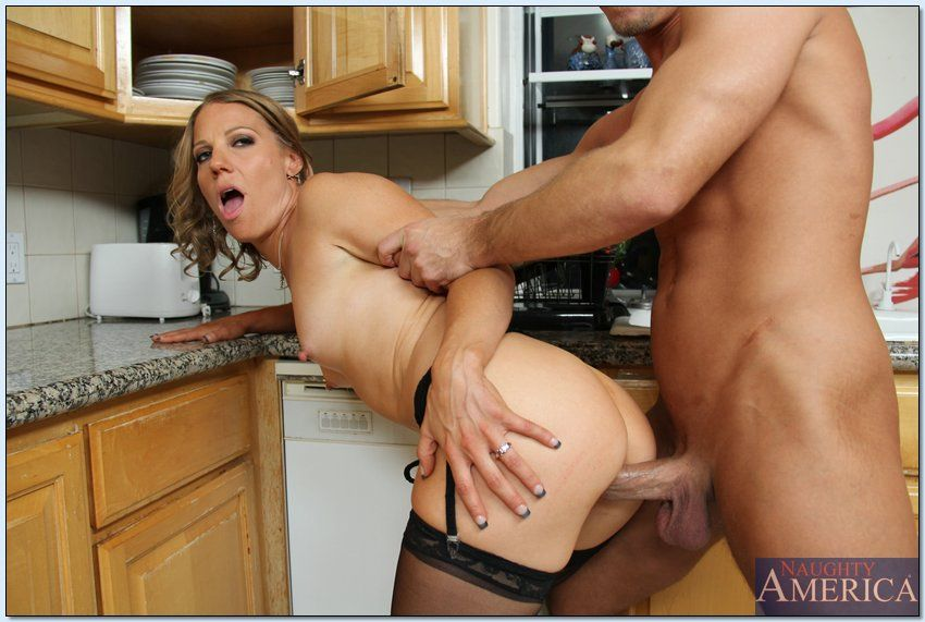 Alyssa dutch hot step mom helps son 8