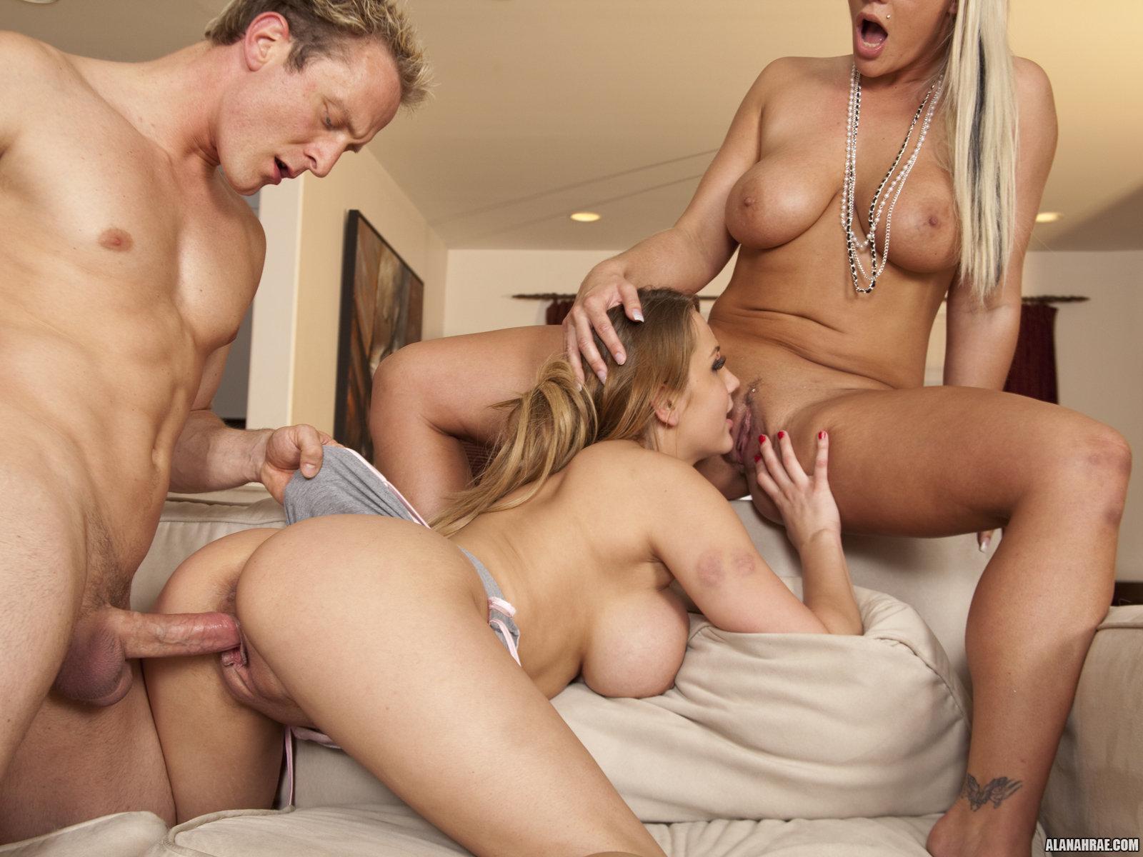 Alanah rae threesome