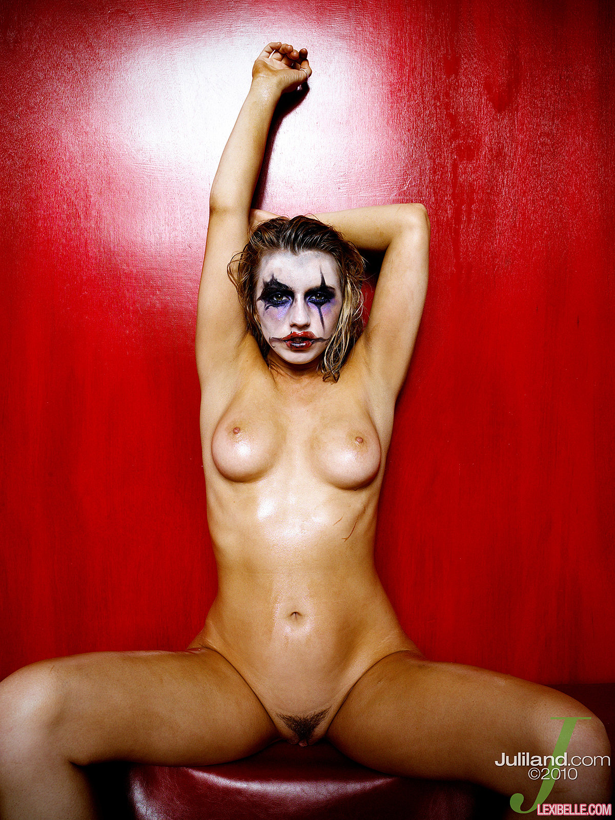 Opinion here Sexy female clown naked interesting moment