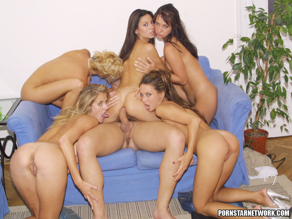 ten girls one guy sex