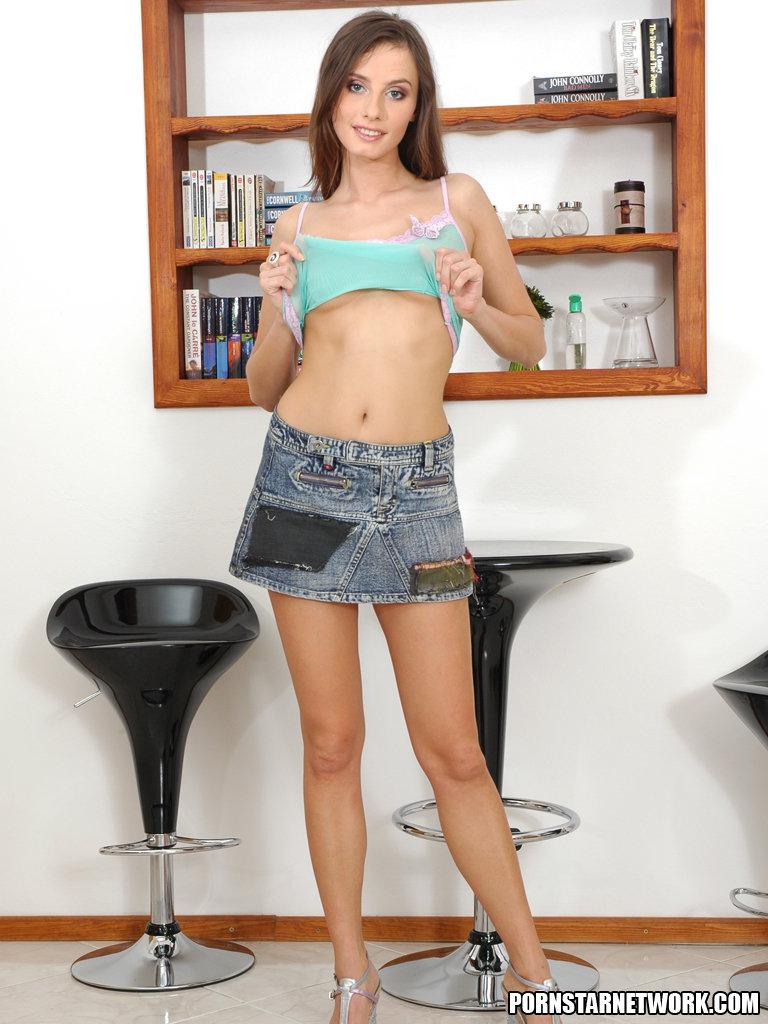 Perky Young Babe Lola Performs A Sexy Strip Tease 57438-3186