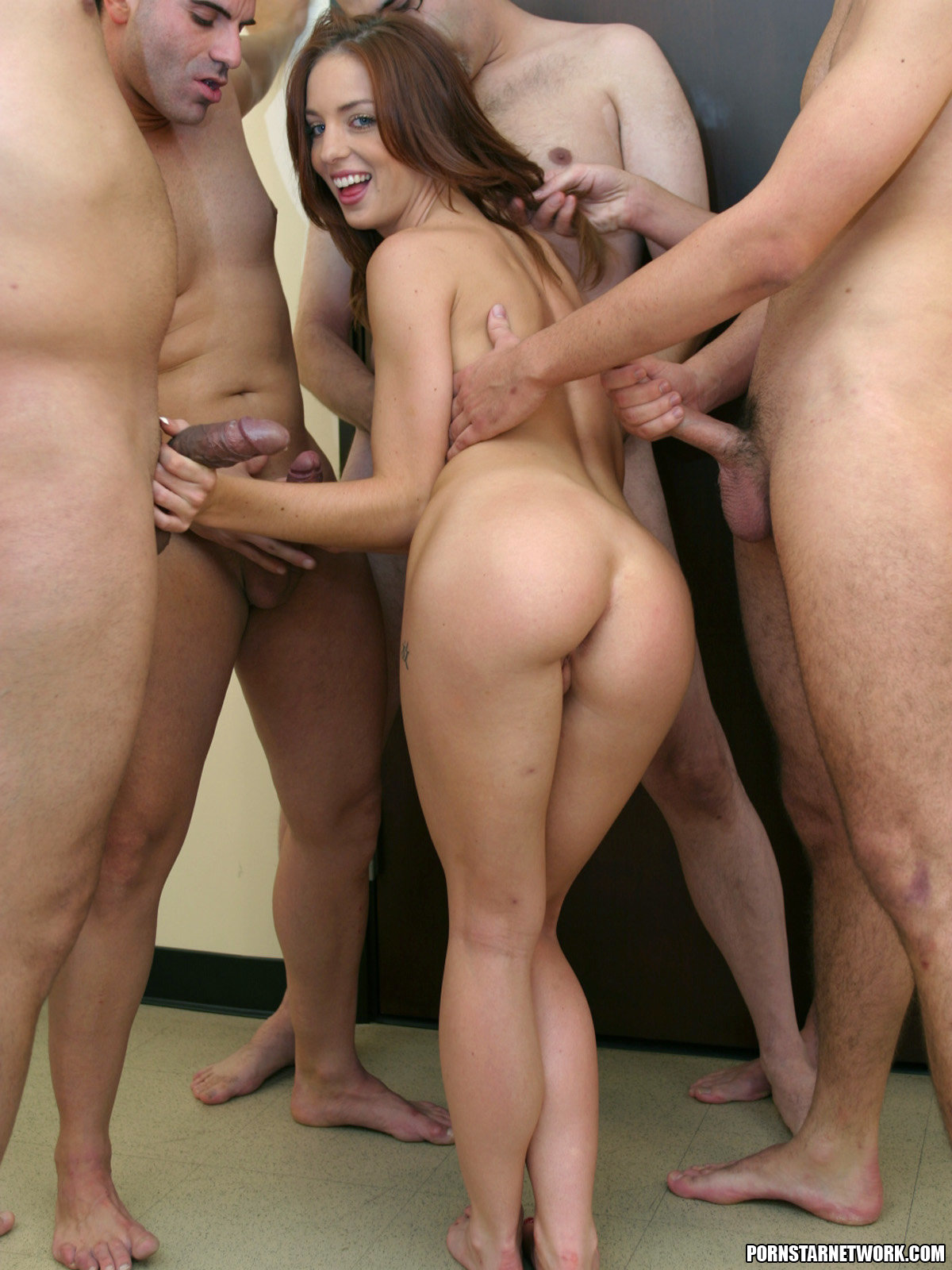 riley sky gangbang video