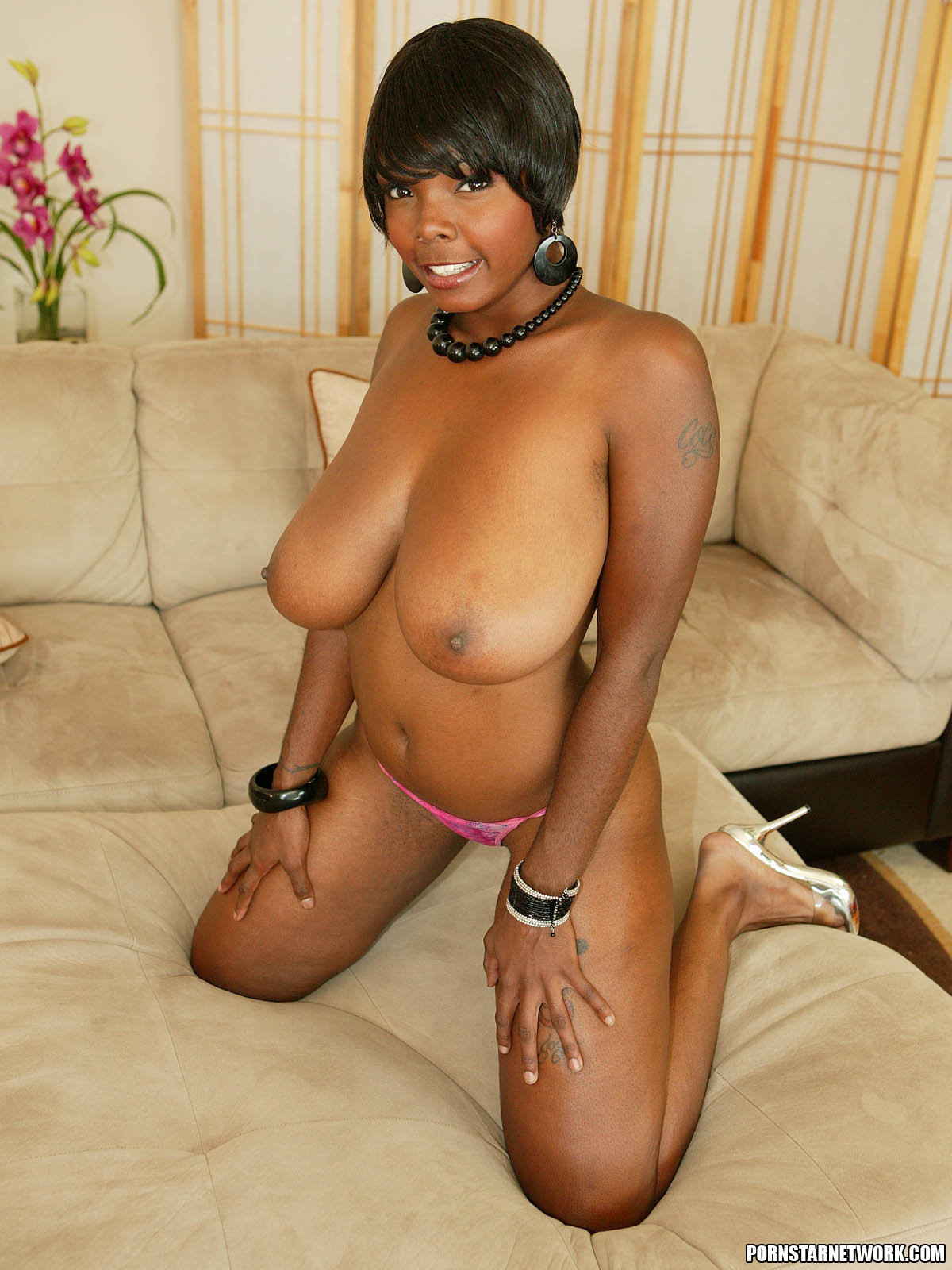 Black Women With Small Tits