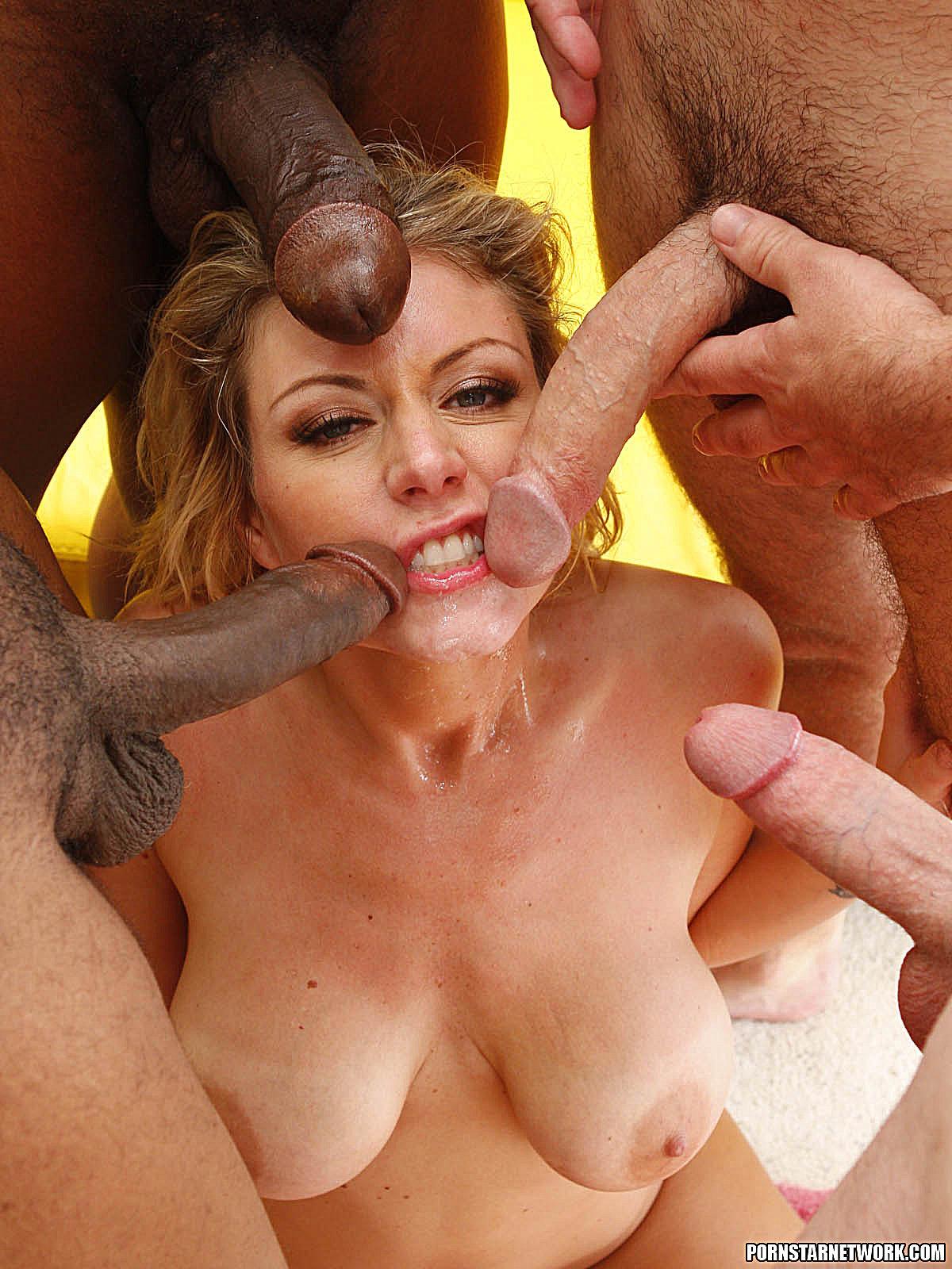 Blonde velicity big tits amp big booty vs big black cock - 3 4