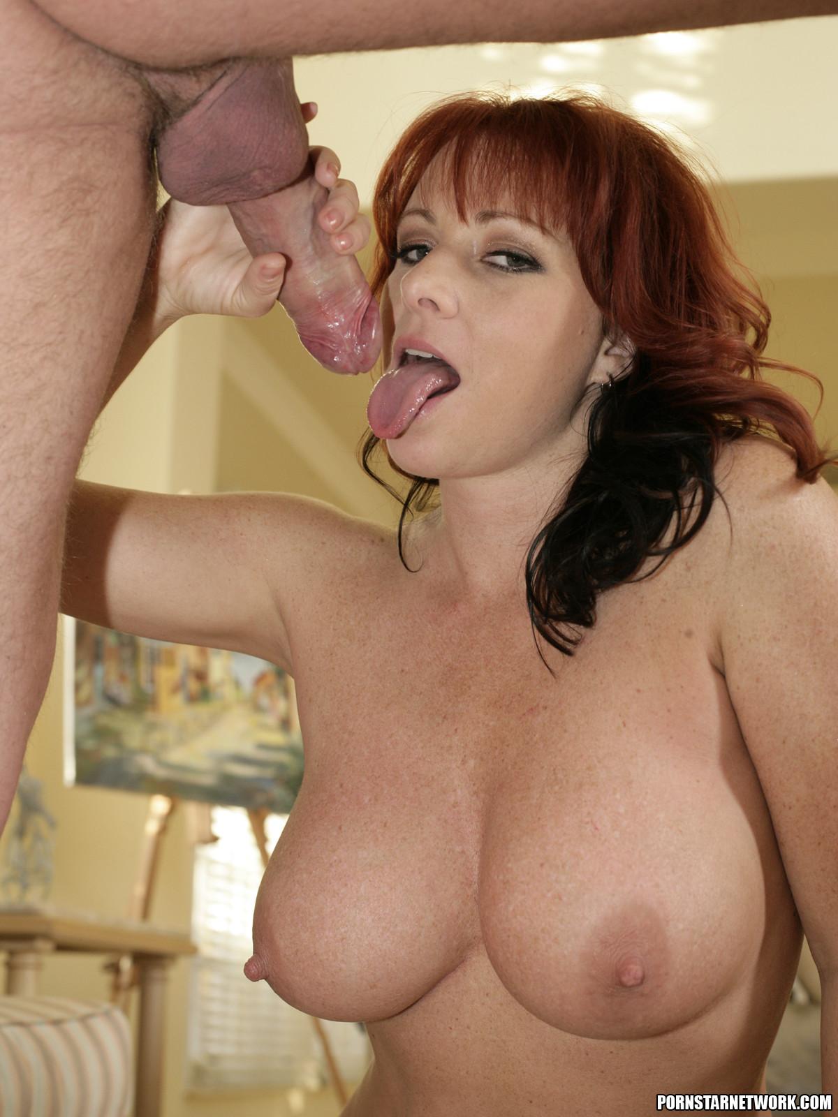 Hot redhead cougar kylie ireland anal threeway - 2 part 1