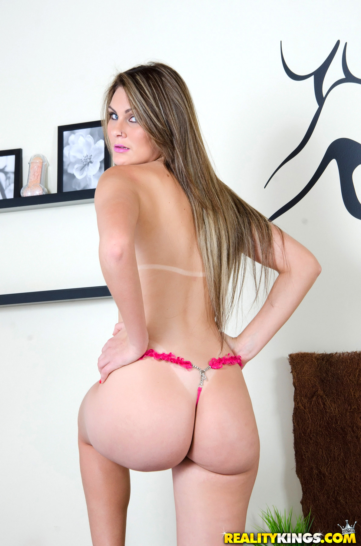 Big ass brazilian brunette mounts hard 10