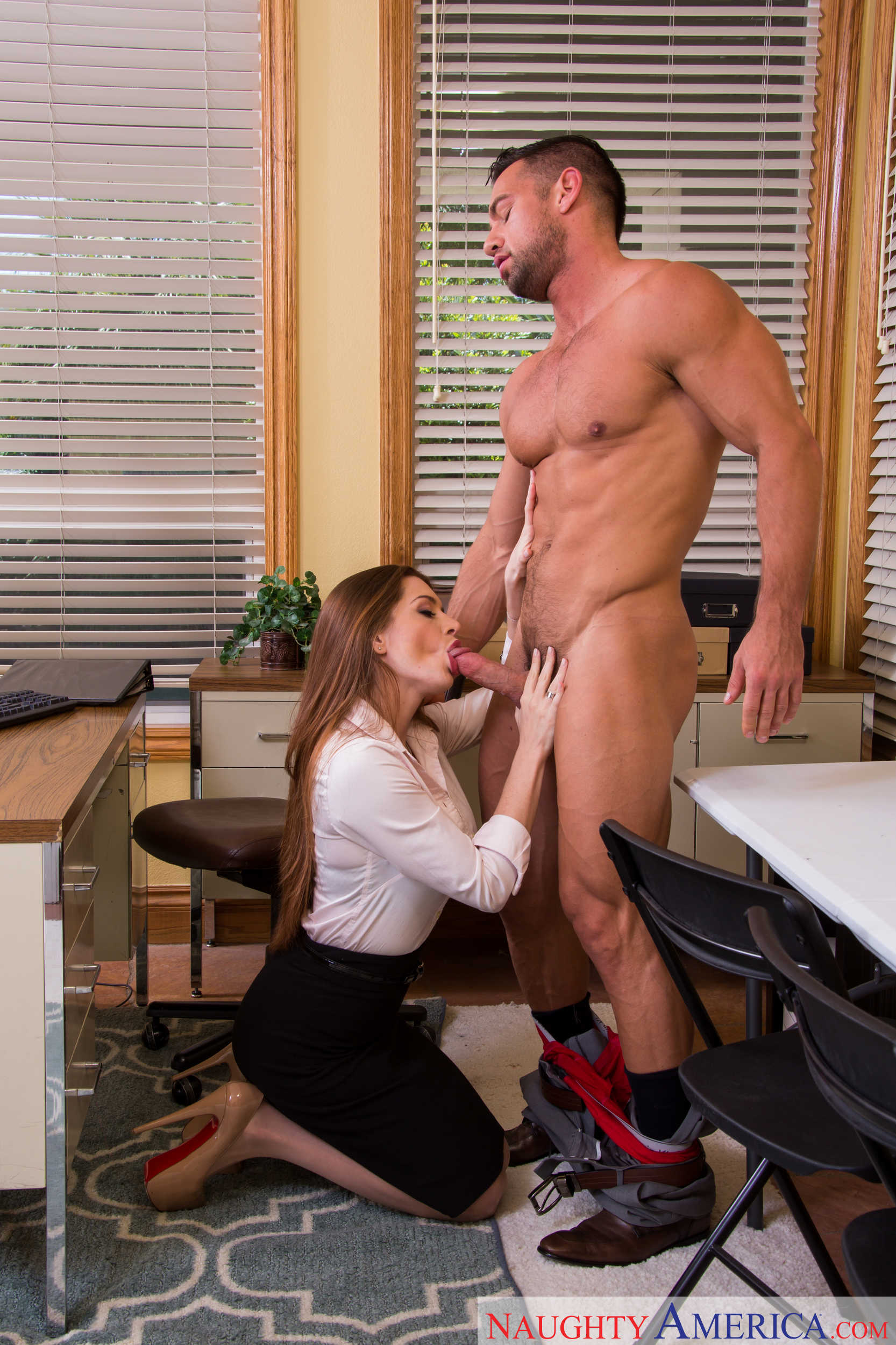 Free hd office porn