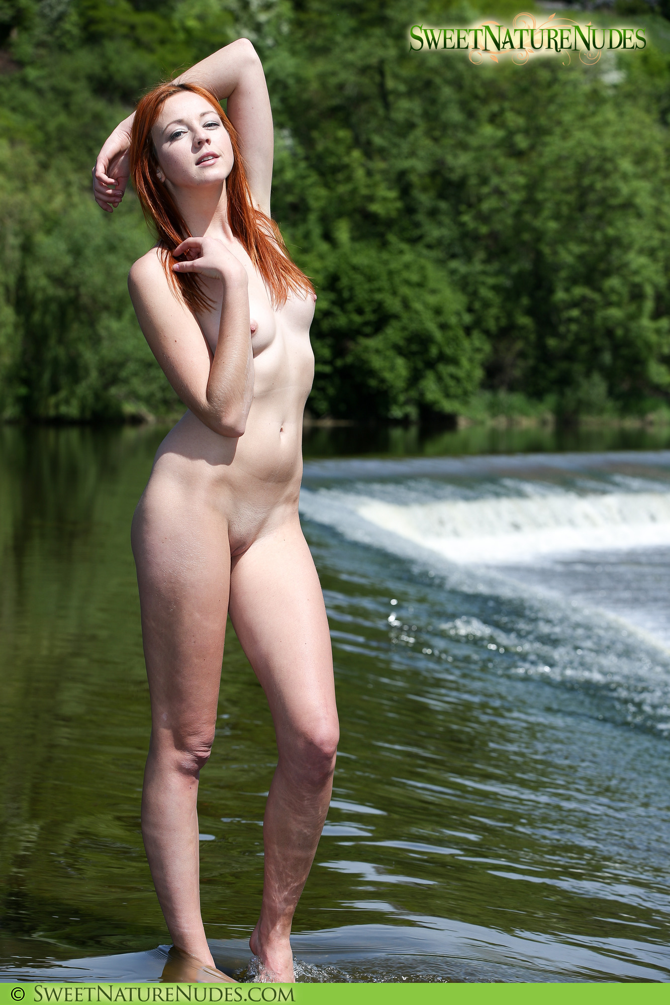 hottest nude naked girls in nature