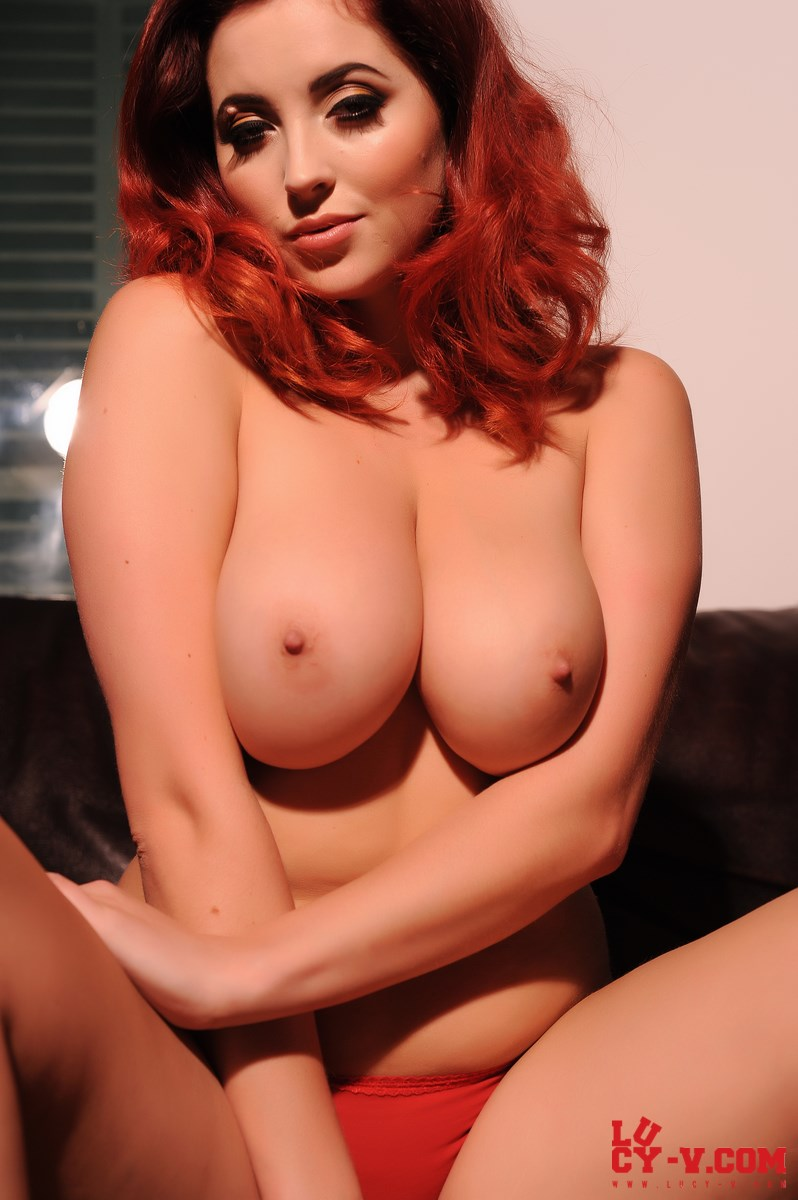 Lingerie red lucy collett