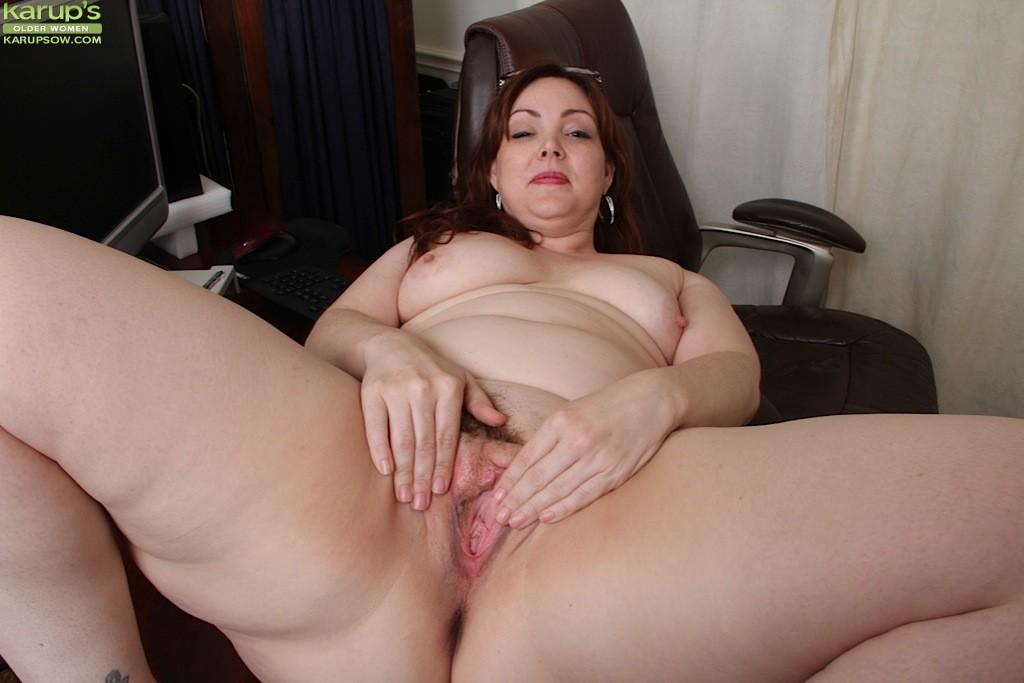 Hairy anal chubby