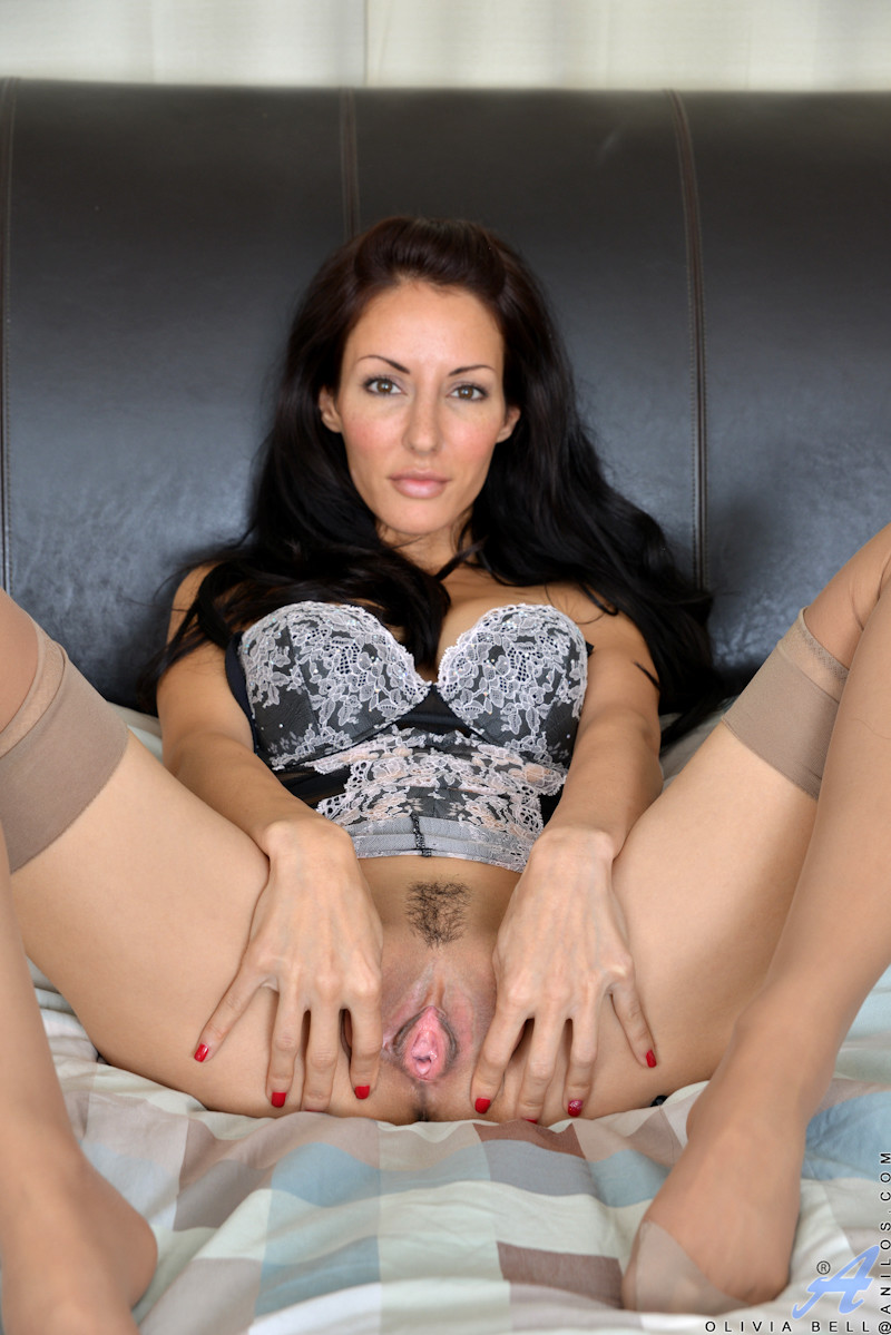 Brunette and action anal in glass hot p dildo hitachi very