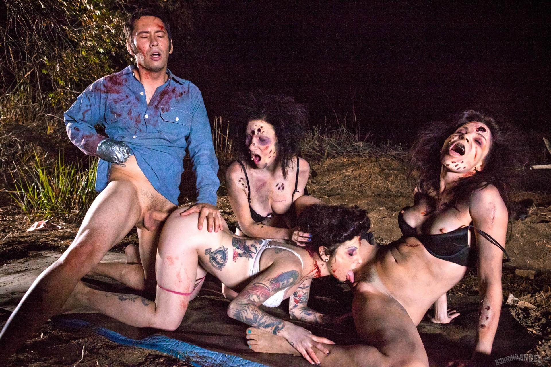 Evil dead parody porn naked girl