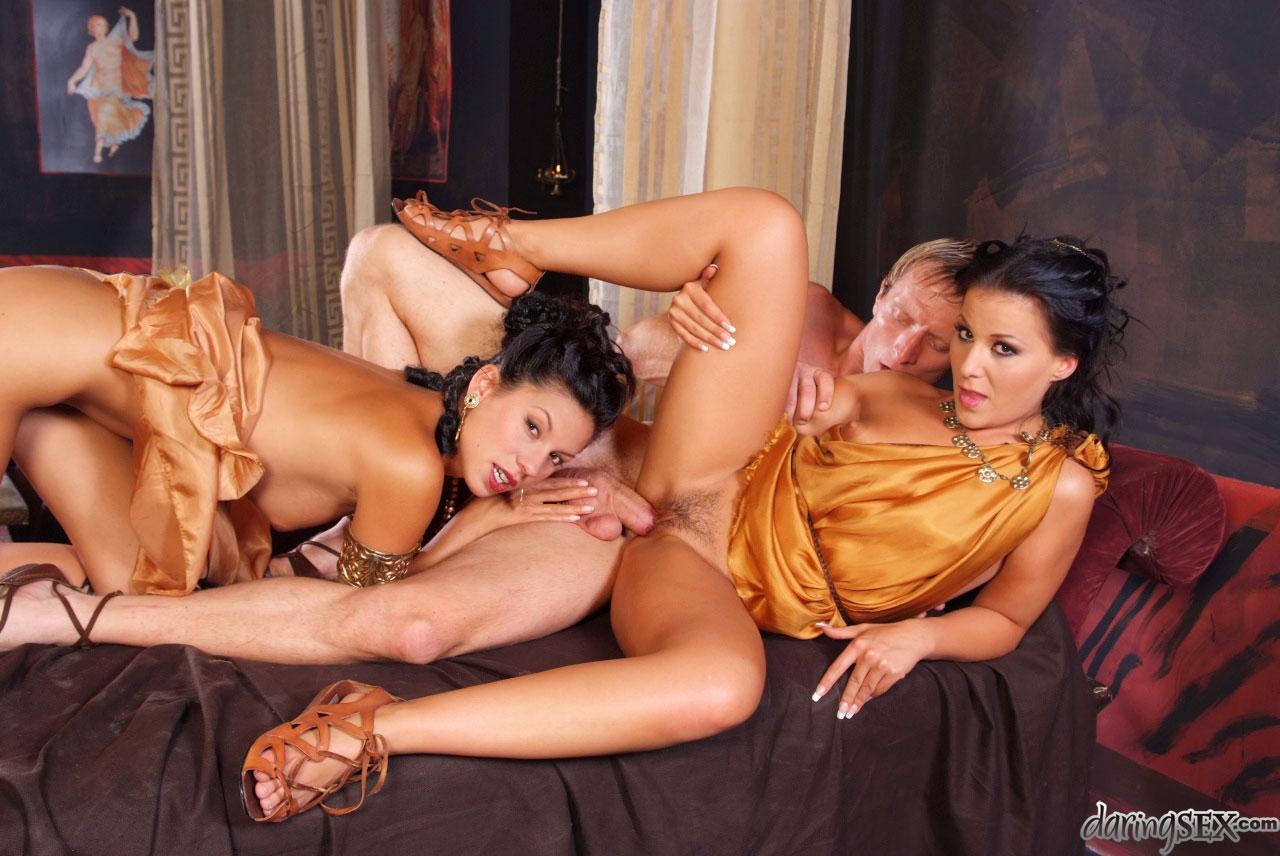 Порно с древними гречанками