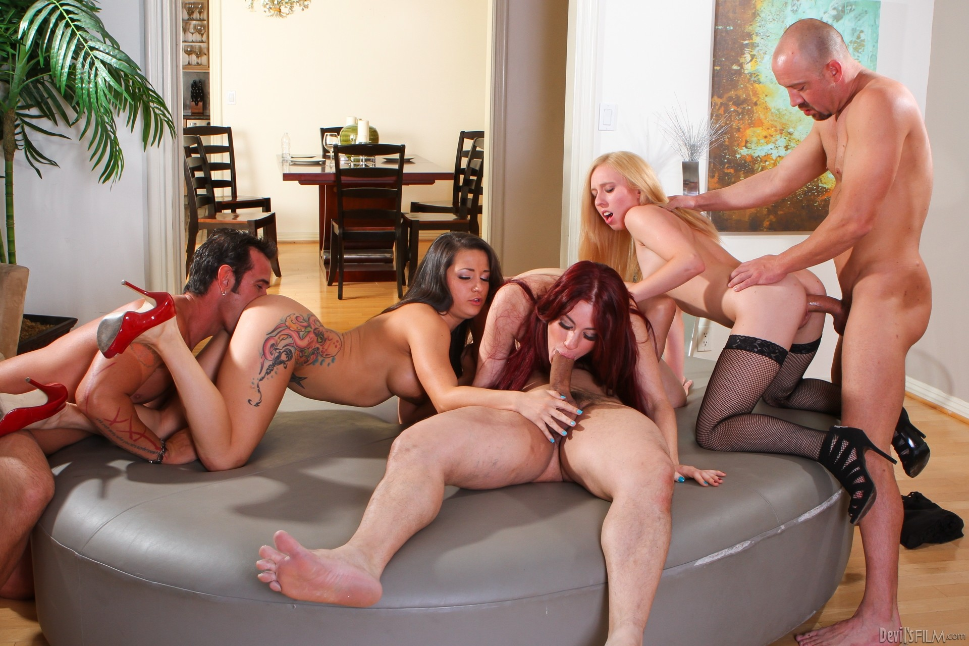 Group sex porn movie — 4