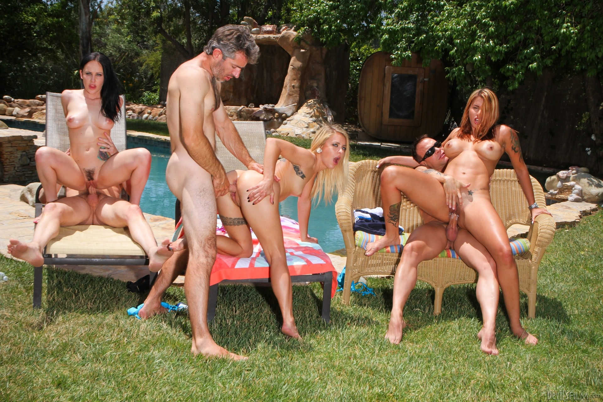 Recent wild golf party pussy 7