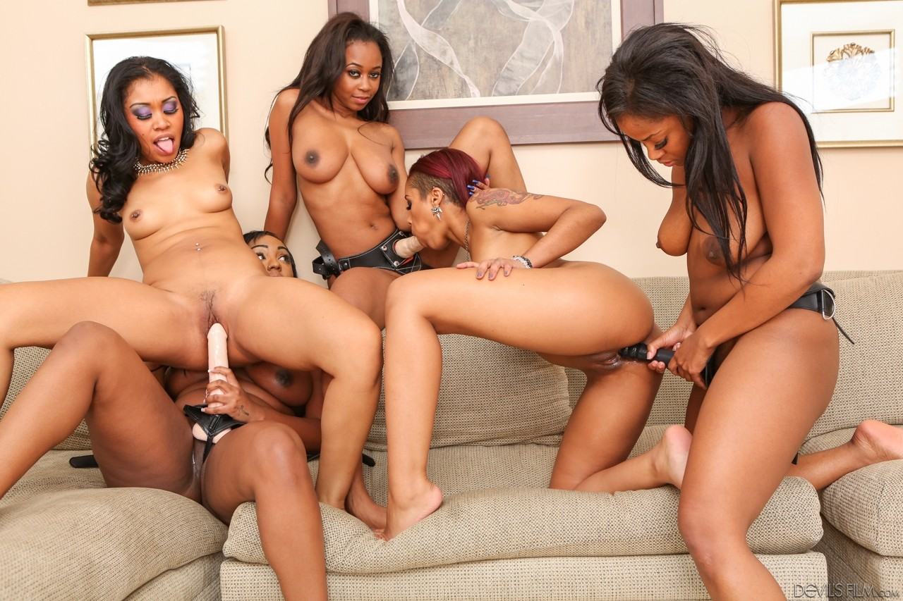 nude group black ebony babes sex