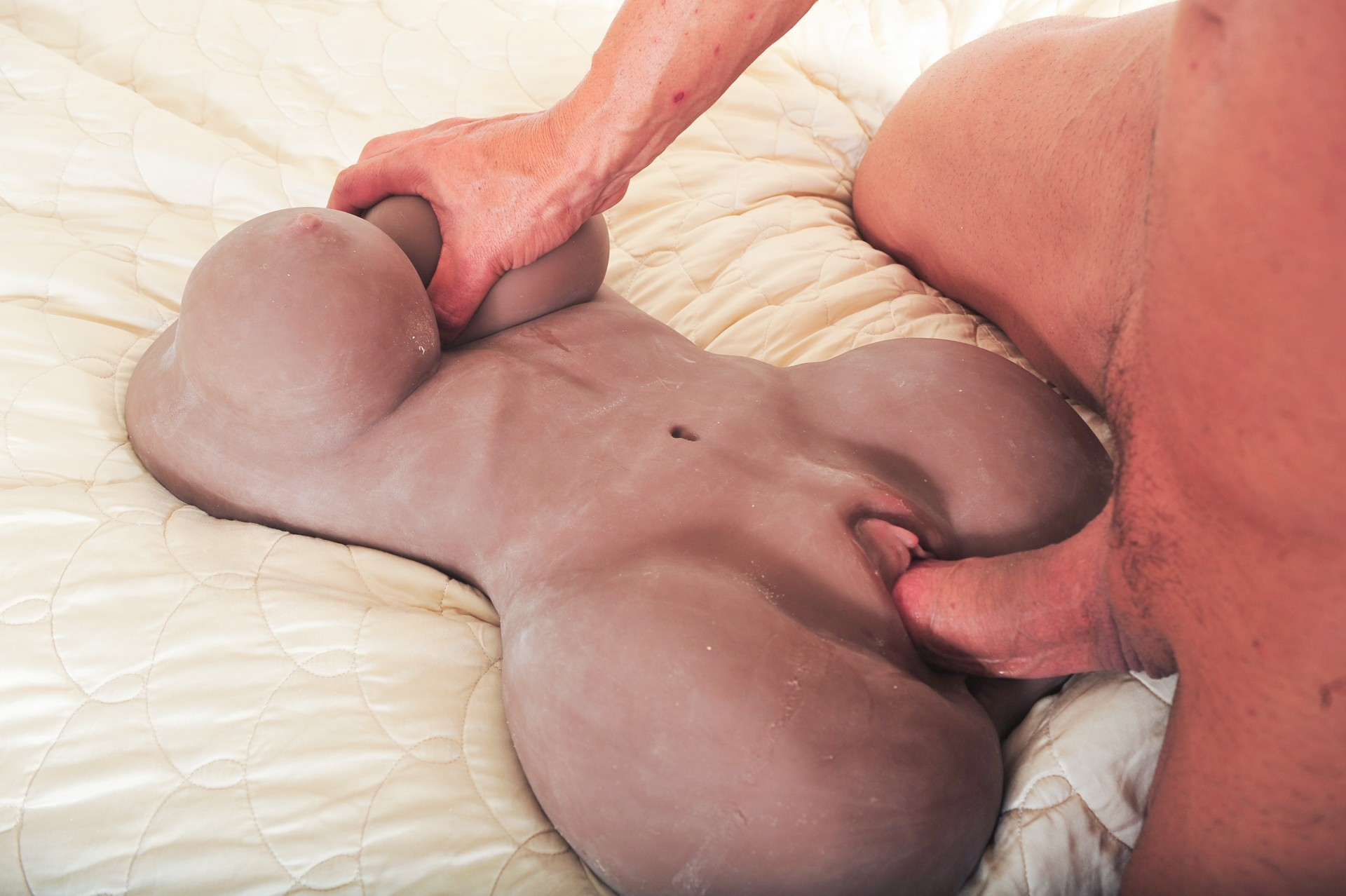 Секс с резиновой вагиной видео