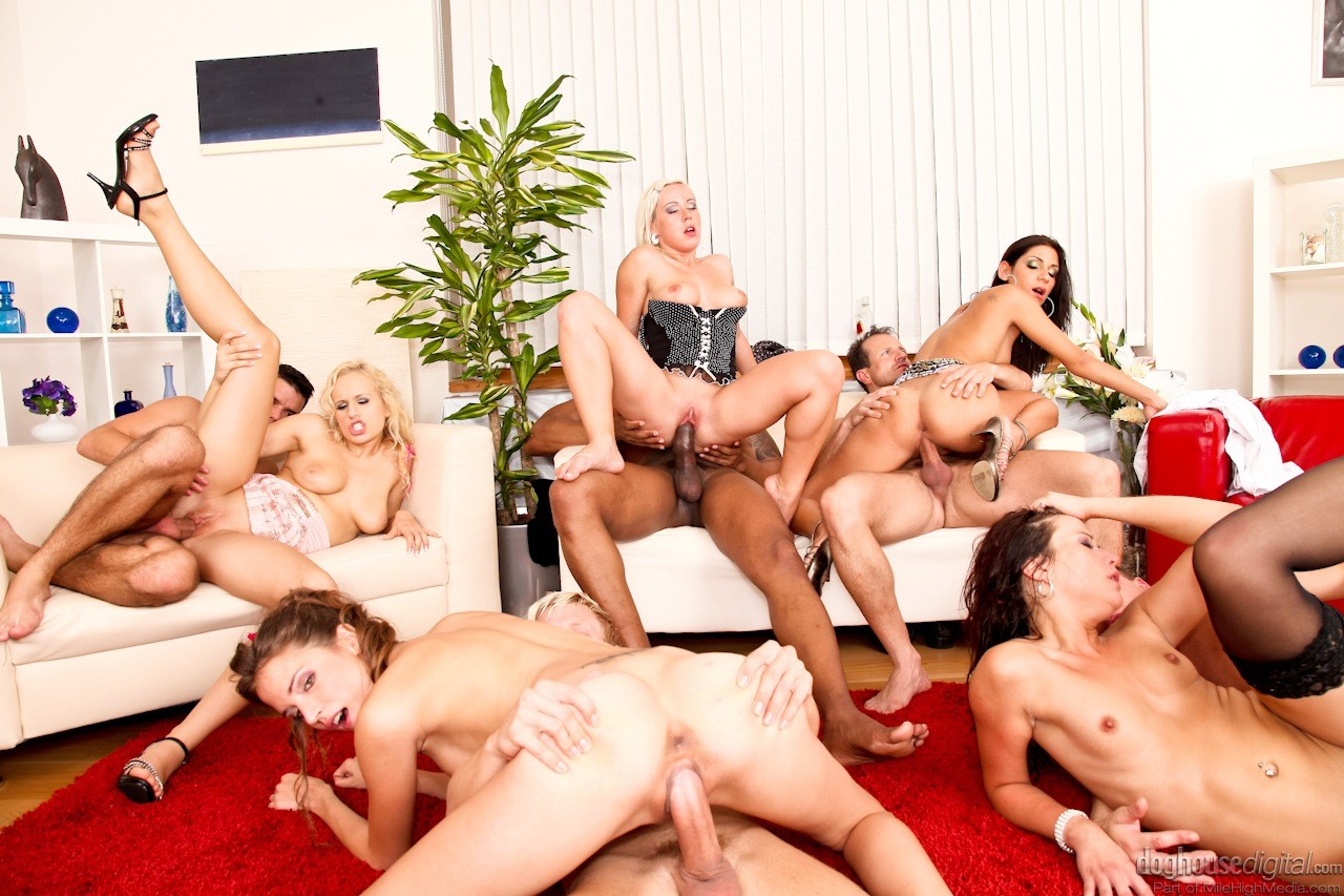 Crazy bachelor party orgy, throat fuck tg caption