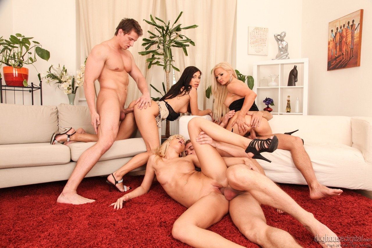 Wild swingers orgy videos — photo 2