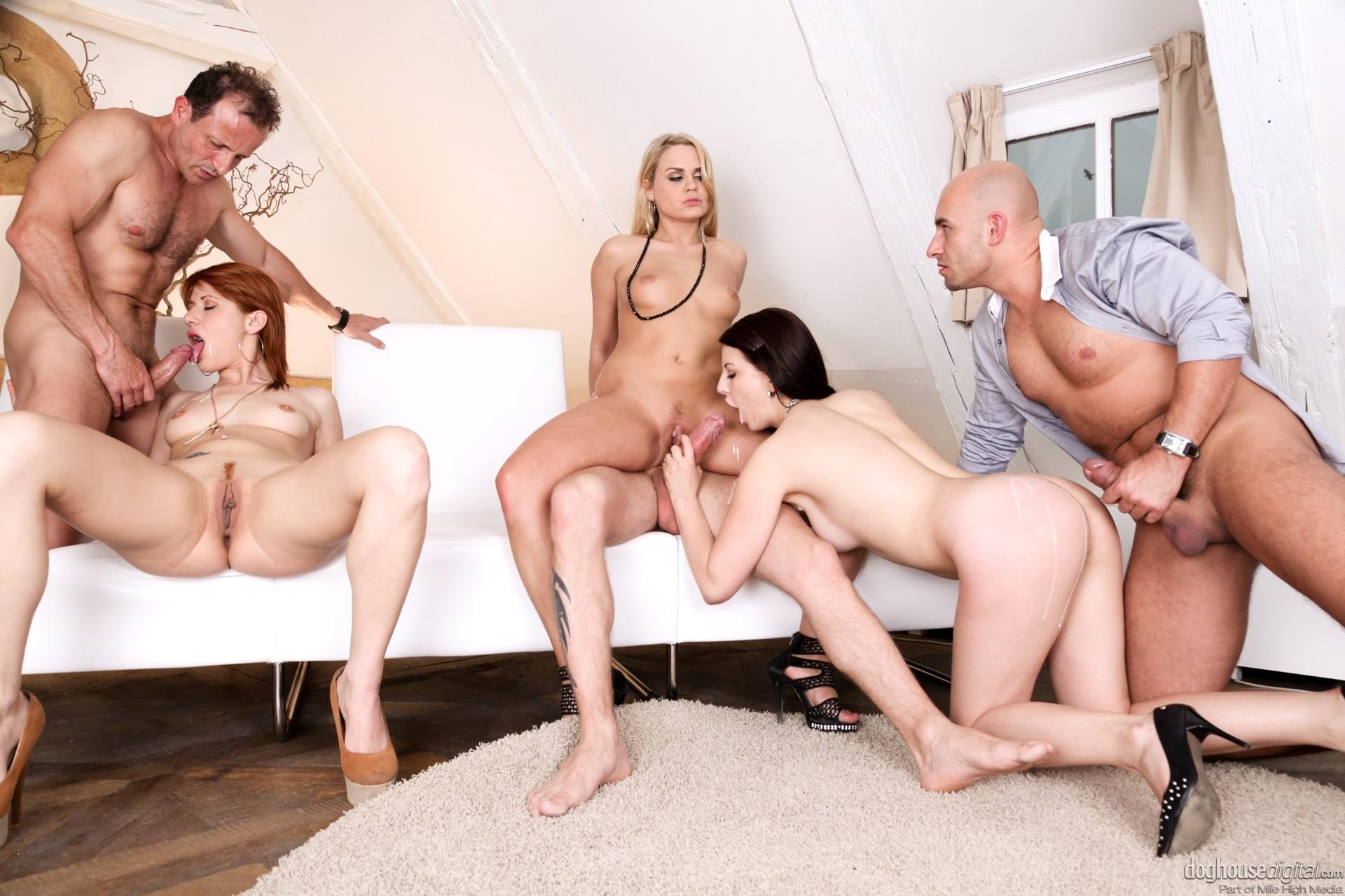Group porn sex story