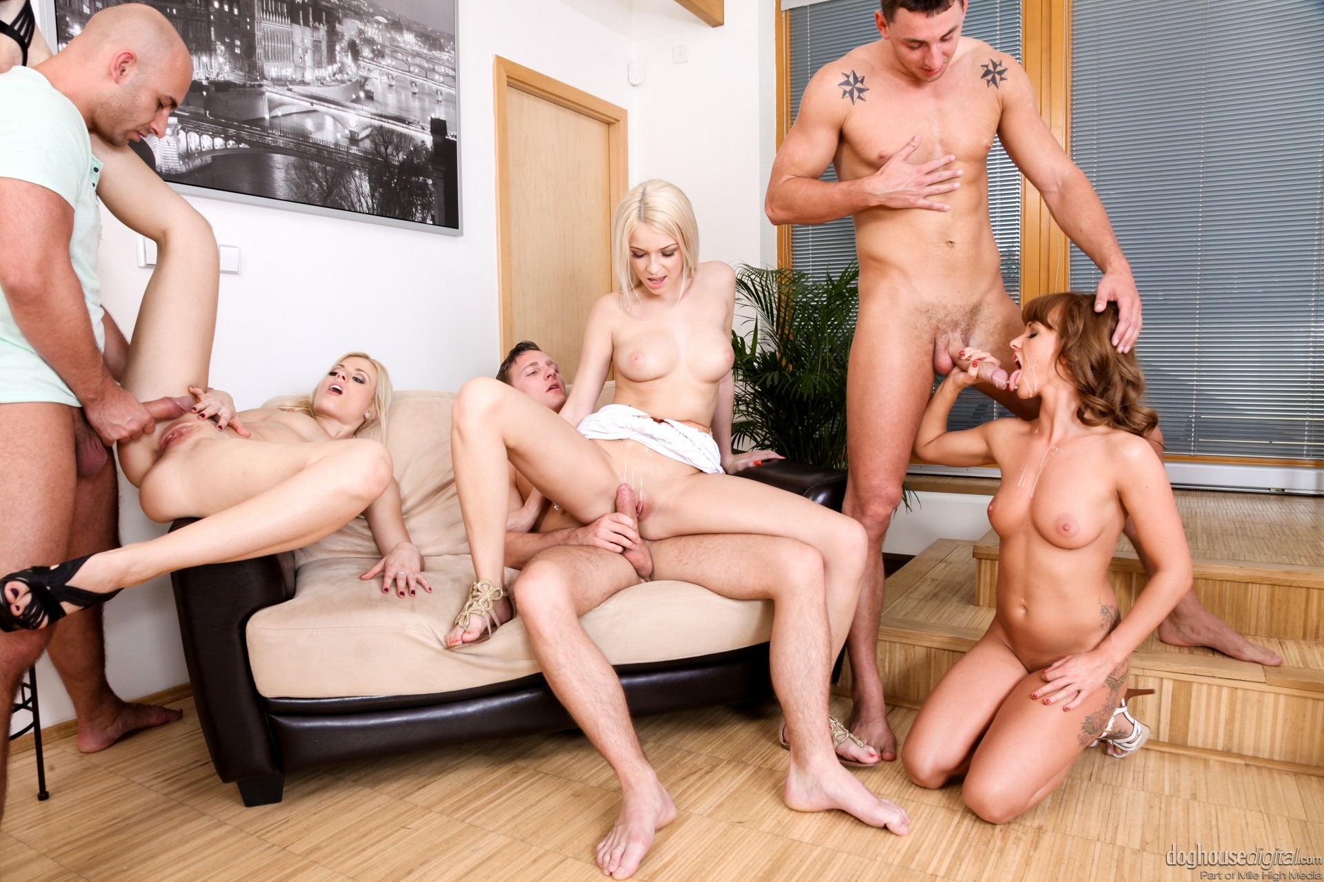 Step Sister Orgy With Lana Rhoades Adriana Chechik Passion