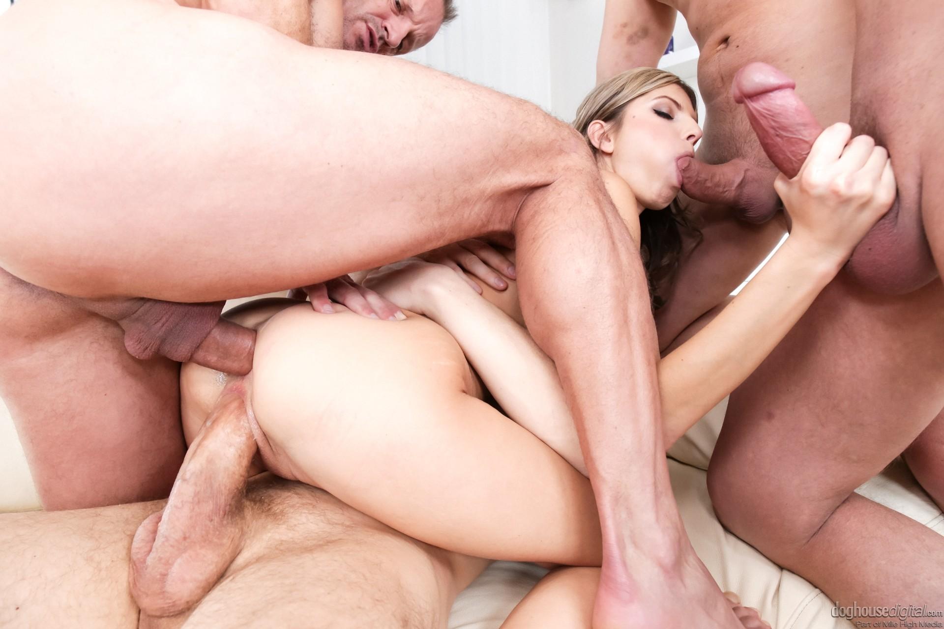 Секс тройное проникновение в контакте