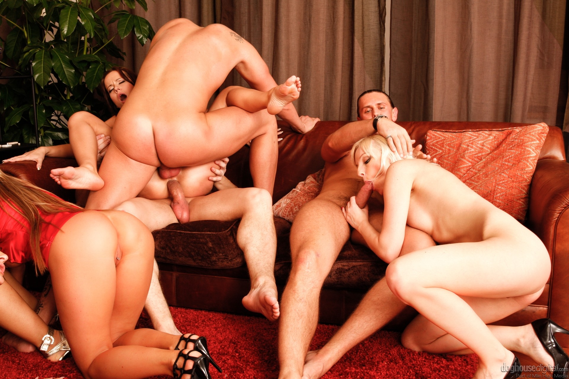 Free group orgy sex photo