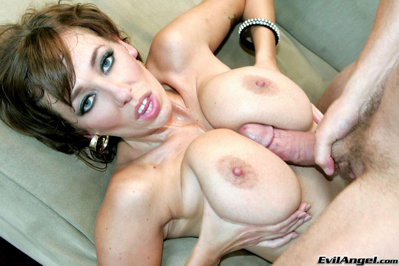 Big boobs threesome pov