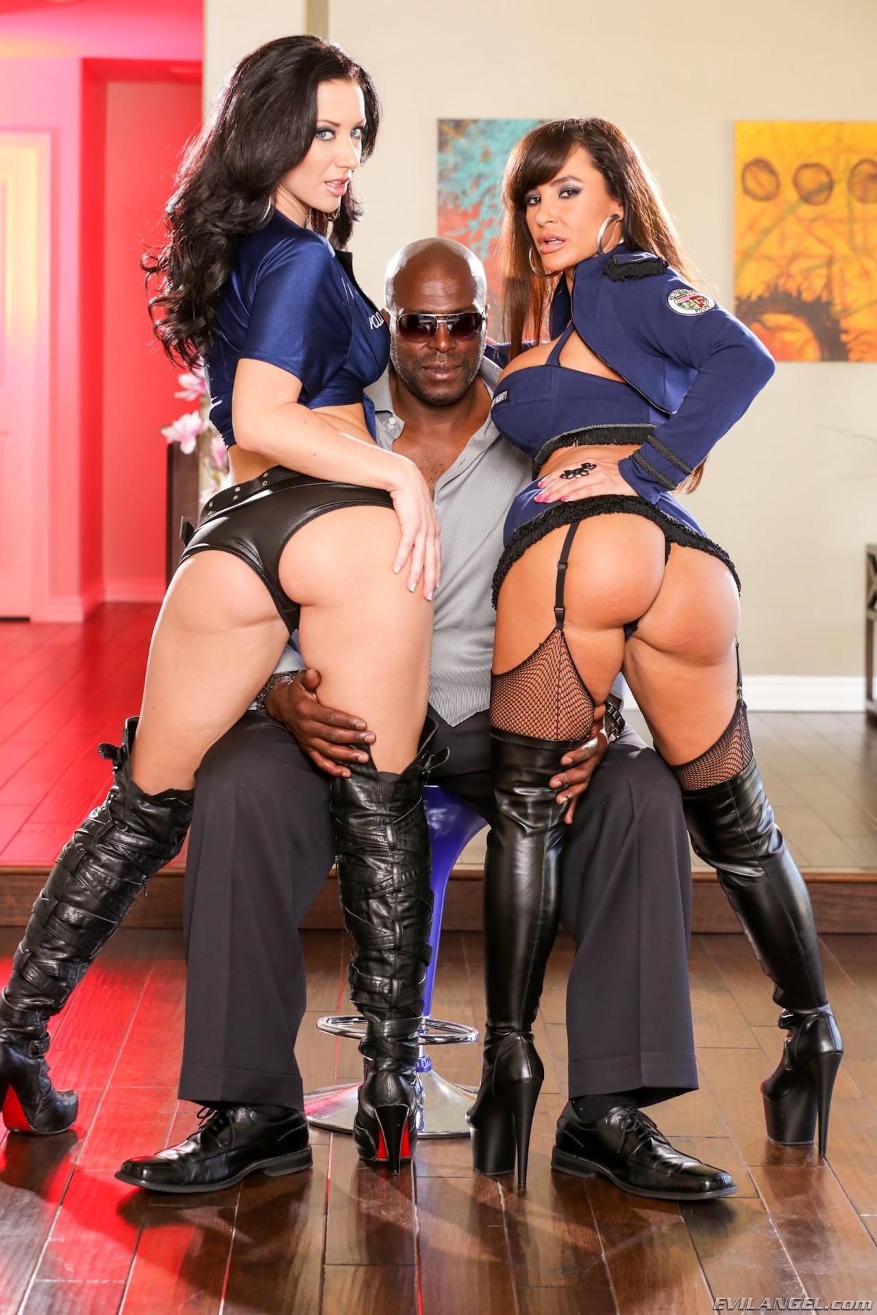 Lisa Ann Kendra Lust Threesome