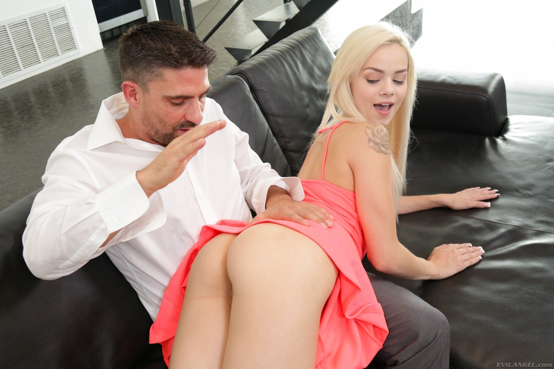 Dad Fucks Babysitter Ebony
