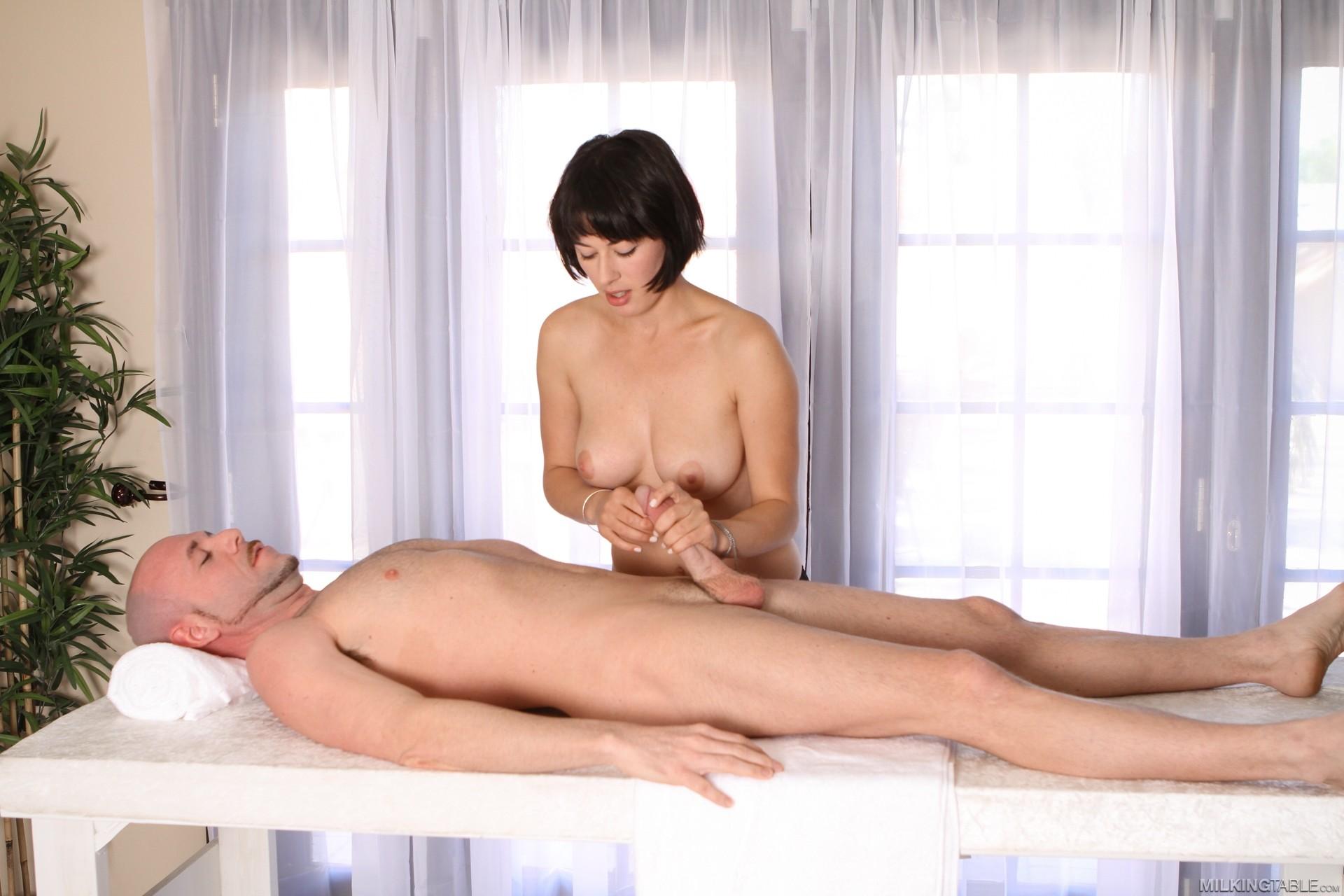 Erotic Cock Milking Massage