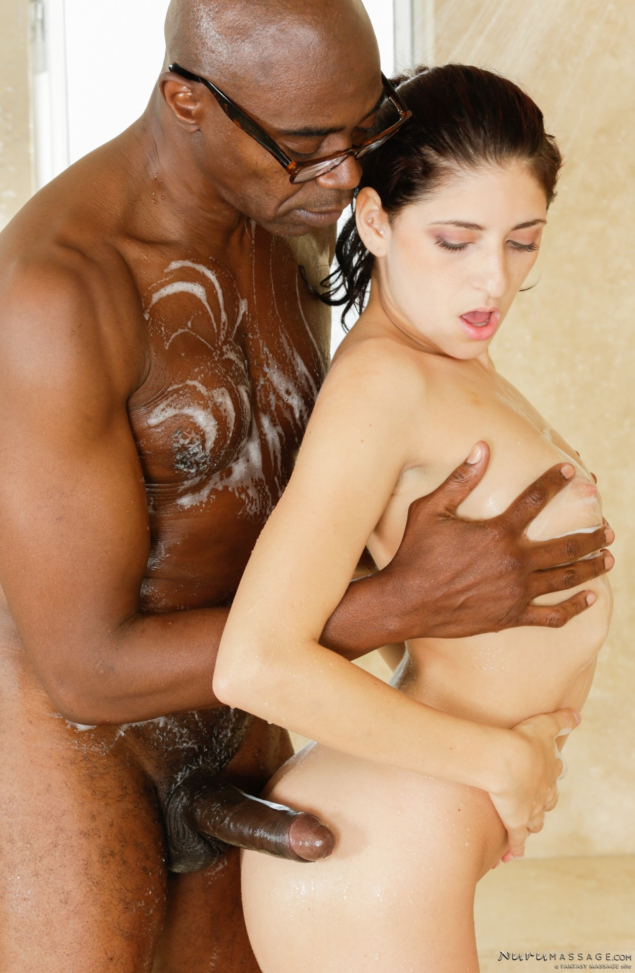 Black schlong treatment for black hottie 9