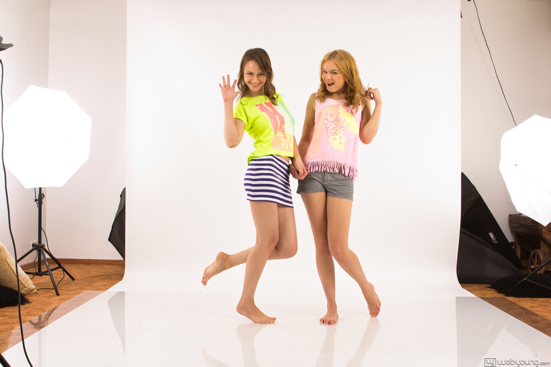 Beata undine and ksenija at webyoung