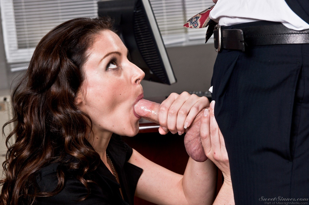 Classy businessmen enjoy wet blowjobs and rough fucking