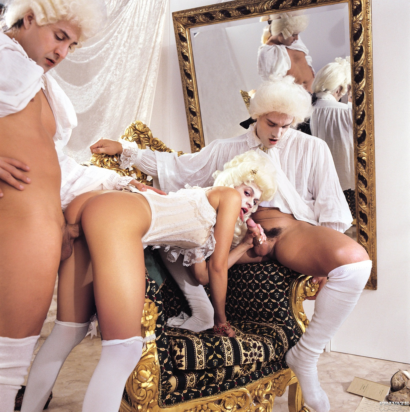 Секс с аристократкой, порно видео с сашей