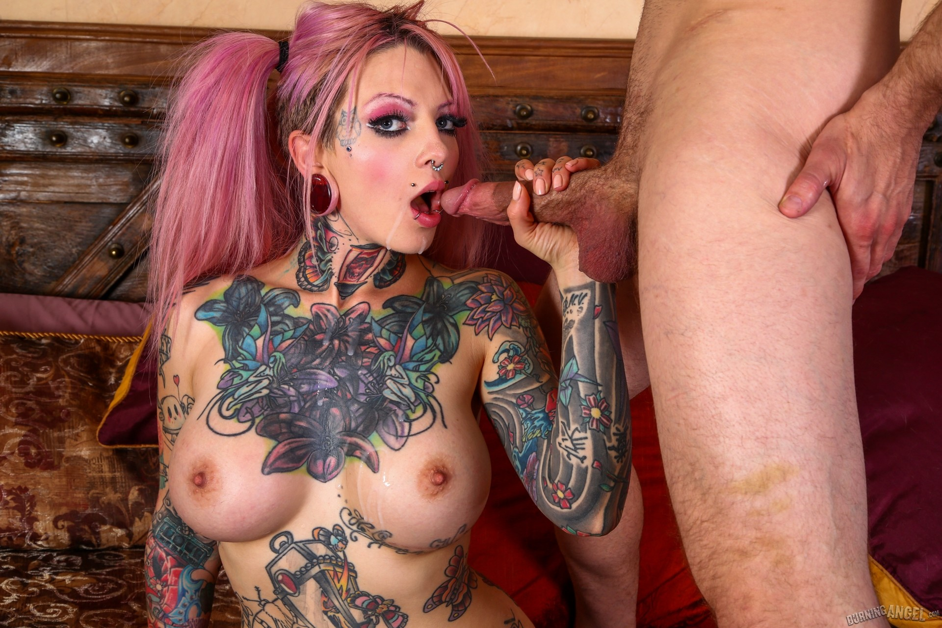 Tattoo porn sex warrior #4