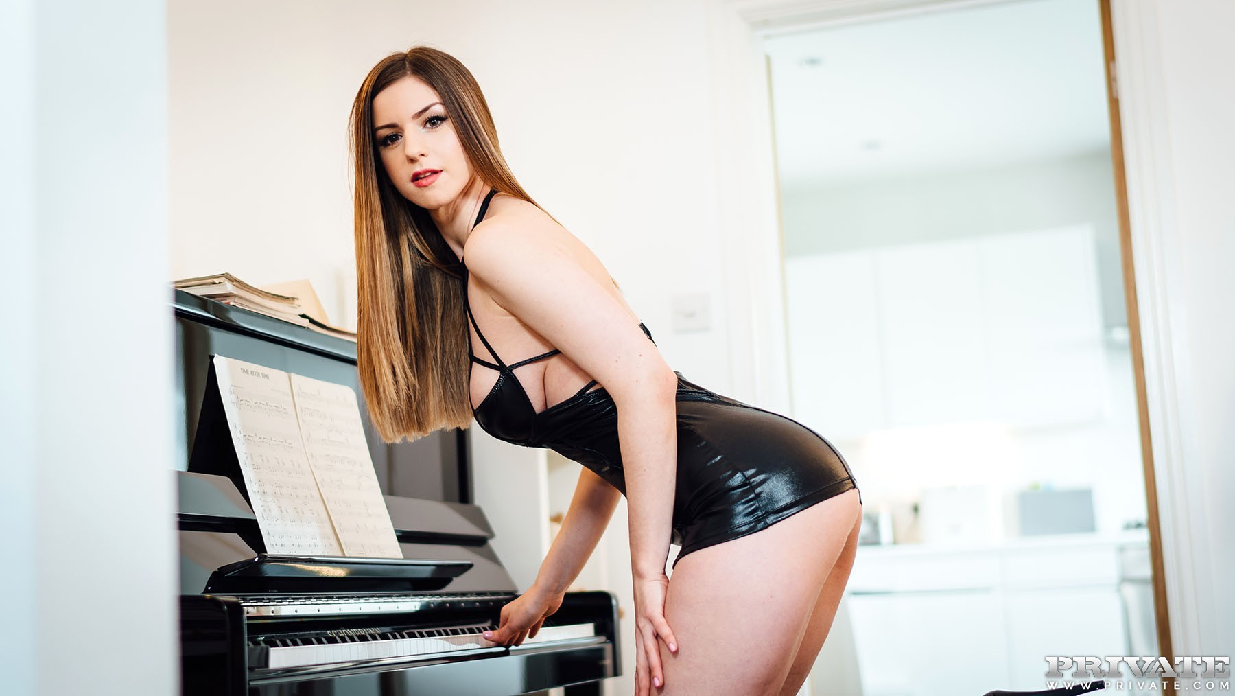 Stella Cox Loves To Get Cum On Her Big Tits - Private 83982-7261