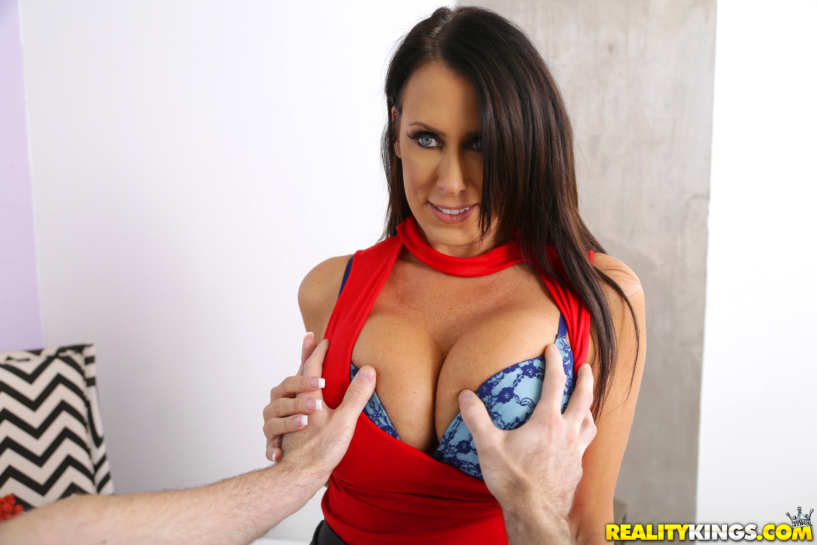 Big titty milf regan anthony takes it in the butt 6