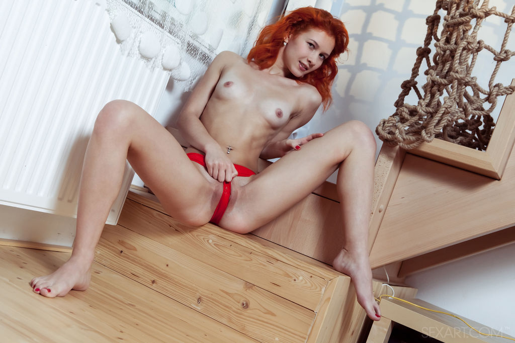 Free video of unshaved redheads