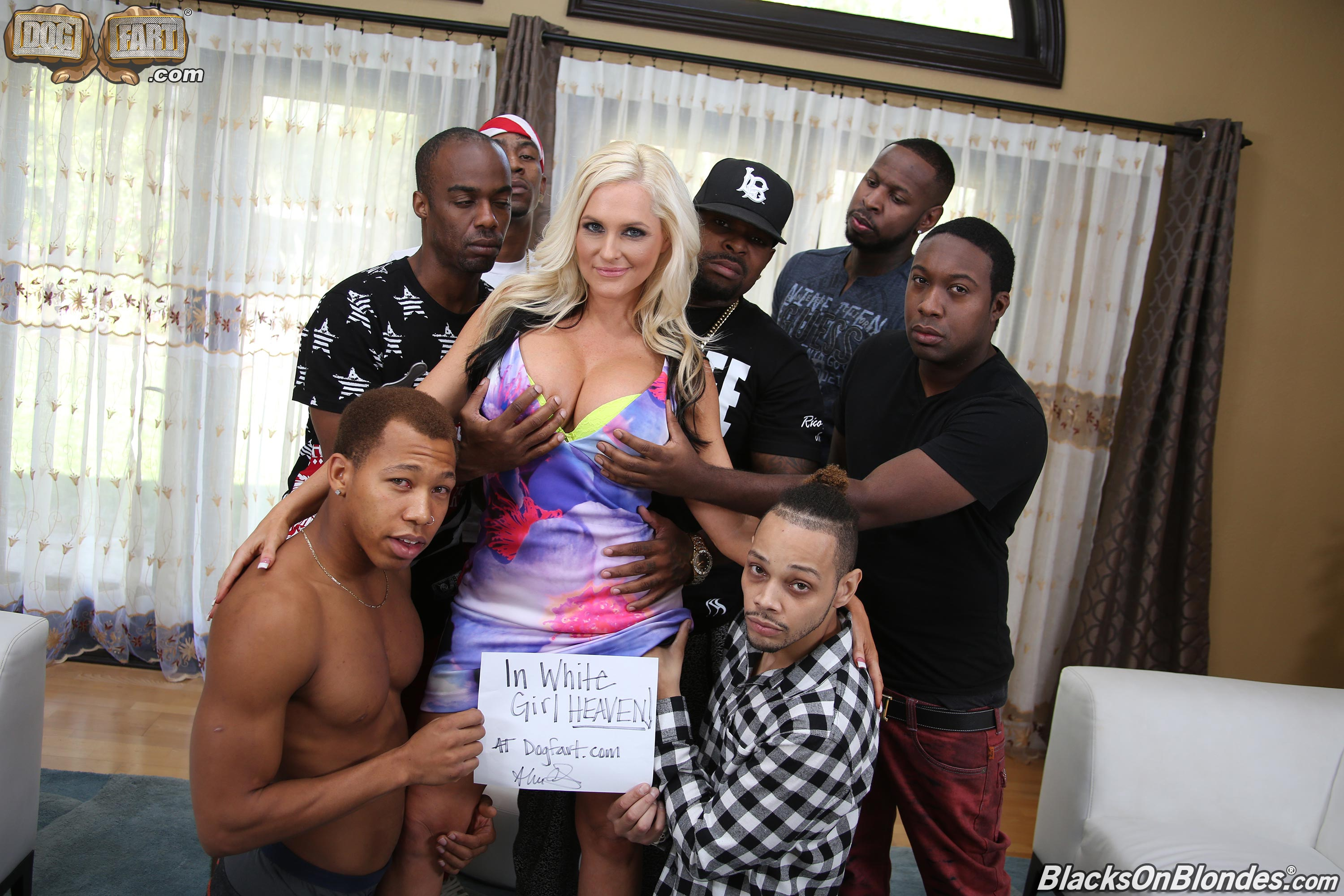 Alana Crift Porno alena croft - blacks on blondes 90275