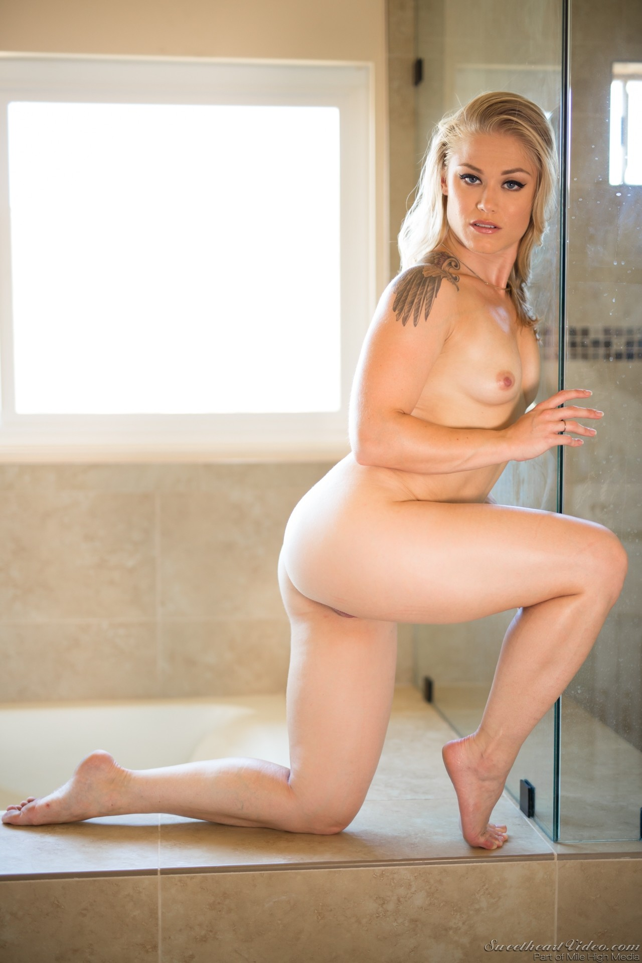 brandi love shower
