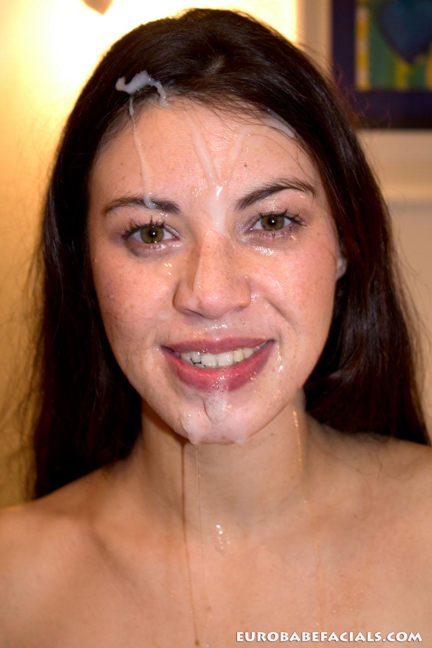 Gushing Bukkake And Facial Cumshots Photo