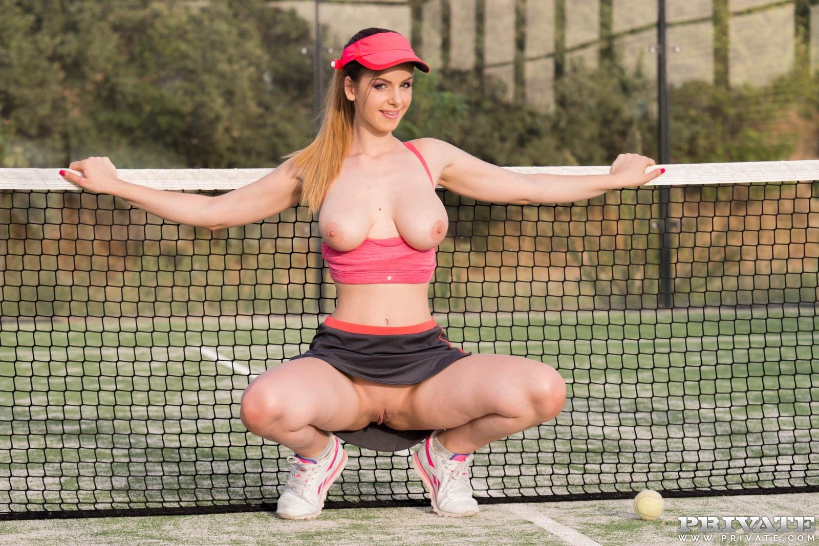 Рыжие теннисистки порно — 9