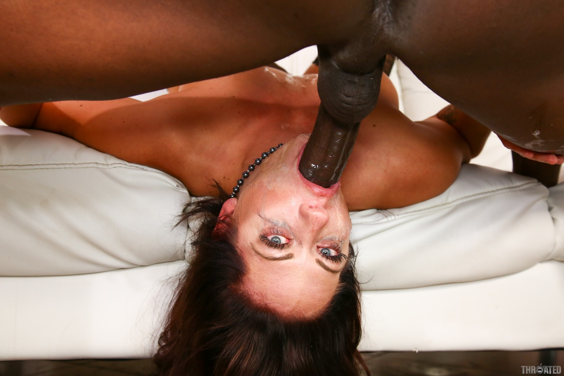 Romance girls gives long dick deep throat